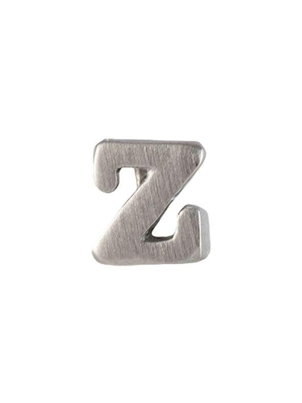 Silver 'Z' Slider Charm