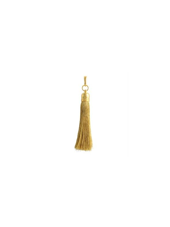Gold Metallic Tassel