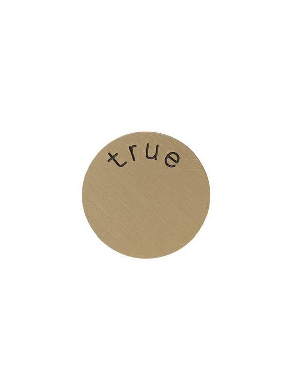 'True' Medium Gold Coin