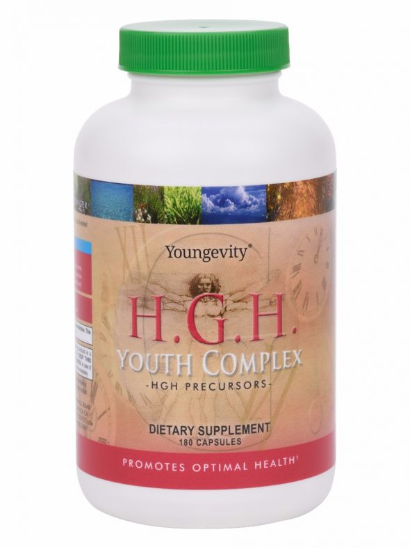 H.G.H. Youth Complex™ - 180 capsules